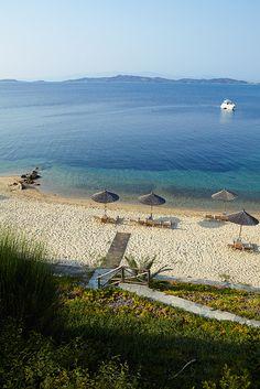 Beach in Chalkidiki, Greece <3