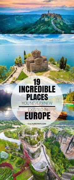 19 Incredible Places You Never Knew Existed in Europe 19 unglaubliche Orte, von denen Sie nie wussten, dass sie in Europa existierten Europe Travel Tips, European Travel, Travel Goals, Backpacking Europe, Budget Travel, Travelling Europe, Travel Ideas, European Vacation, Travel Plan