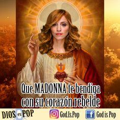 Que Madonna te benfiga con su corazón rebelde. ✨🙏🏻✨ Dios es Pop. #madonna #queenofpop #queen #popmusic #musicapop #musica #music #jesus #god #godispop #deusepop #diosespop