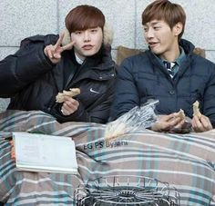 Pinocchio - Lee Jong Suk & Kim Young Kwang It is deeply unfair for these two to be allowed in the same drama.