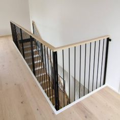 Grado LOFT stairs in modern Finnish home. Shed With Loft, Loft Stairs, Staircase Design, Own Home, Bed, House, Furniture, Home Decor, Office Spaces