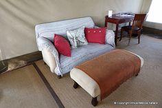 Linyati Bush Camp - Linyanti Safari - Picasa Web Albums Two Twin Beds, Flush Toilet, Comfortable Sofa, King Size, Albums, Safari, Tent, Camping, Couch