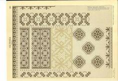 Folk Embroidery, Blackwork, Cross Stitch Patterns, Stitches, Flowers, Fashion, Folklore, Moda, Stitching