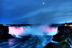 Niagara Falls Facts, Niagara Falls At Night, American Falls, In The Beginning God, World Travel Guide, Fall Photos, Canada Travel, Day Tours, Wonderful Places