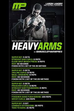 Arm workout Muscle Fitness, Mens Fitness, Fitness Tips, Fitness Motivation, Workout Fitness, Gain Muscle, Muscle Mass, Biceps Workout, Gym Workouts