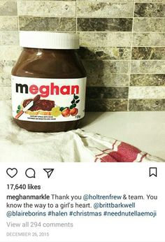 Harry And Meghan Wedding, Prince Harry And Meghan, The Tig Meghan Markle, Meghan Markle Instagram, Charlotte Casiraghi, Nutella, Blog, Windsor, Royals