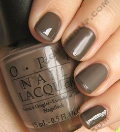 The greatest Fall/Winter nailpolish color of all time...You Don't Know Jaques!