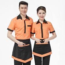 Hotel Uniform Summer Clothing For Waiters And Waitress Pot Attendant . Cafe Uniform, Waiter Uniform, Hotel Uniform, Uniform Dress, Uniform Shop, Corporate Uniforms, Staff Uniforms, Work Uniforms, Cleaning Uniform
