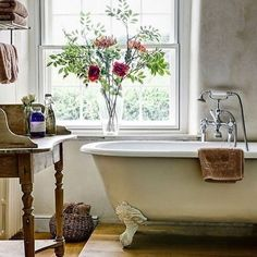 If you're building a farmhouse or looking to remodel a bathroom, here are some fabulous farmhouse washstand options! Create a one of a kind look by retrofitting an antique table into a farmhouse sink vanity! I looooooove this washstand! Vintage inspired gorgeousness! The absolute BEST double sink vanity I have ever come across! The perfect combination of rustic and chic! Clean, classic perfection! I am just crazy about trough sinks! Perfect for a kids bathroom or a killer laundry room si...