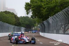 Marco Andretti in action at St. Pete