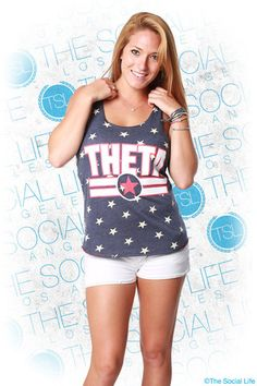 Represent your house and your country in this Theta top gun racerback! My #TSL Dream Recruitment Closet