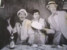 This from the past: Leopoldo Fernandez (Tres patines), Anibal de Mar y Mimi Cal. The big three! How many cuban laughed at their jokes.!