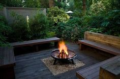 corner bench seat with planter - Google Search
