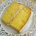 This lemon layer cake is is part of my lemon dessert recipes collection.See this and over 235 Italian dessert recipes with photos. Lemon Frosting Recipes, Lemon Dessert Recipes, Pound Cake Recipes, Easy Cake Recipes, Delicious Desserts, Meal Recipes, Salad Recipes, Cookie Recipes, Yummy Food