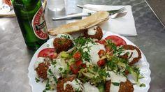 Falafel Salam in Berlin, Rankestr. 3 - 10789 Berlin -  Wilmersdorf - Note: Syrian Falafel