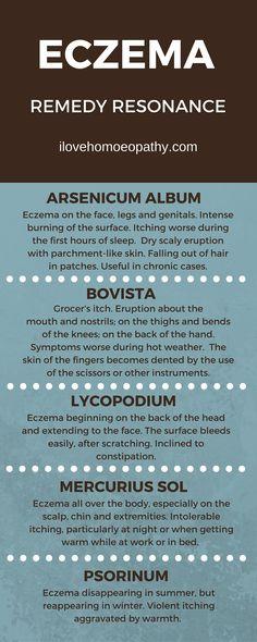 Eczema Homeopathic Remedies