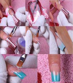 наращивание ногтей гелем на
