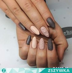Imagine nails, girl, and grey