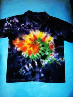 Galaxy Swirl Tie Dye T-Shirt  size 4T