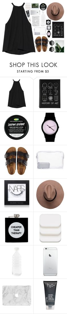"""""""✧✧;; I'm a 90s baby in my 80s Mercedes"""" by jsigmon03 ❤ liked on Polyvore featuring A.L.C., May28th, Birkenstock, Topshop, NARS Cosmetics, ASOS, COVERGIRL, canvas, H2O+ and Paul Smith"""