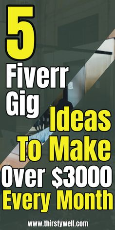Are you looking to make money from Fiverr then this article is for you as you will learn about 5 gigs ideas in which you can make over $3000 per month. Read more in the article.    #fiverrgigsideas  #fiverrideasmakemoney  #fiverrideas Online Earning, Earn Money Online, Earn Money From Home, How To Make Money, Excellence Quotes, Invoice Design, First Language, My Dear Friend, Extra Money