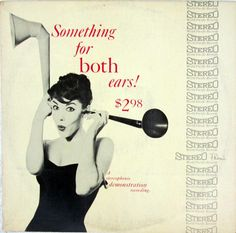 Various Artists - Something for Both Ears! (World Pacific; 1958) An early stereo demonstration record. #records #vinyl #albums #LP