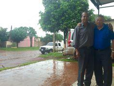 Con Pr Ovelar en Pedro Juan Caballero