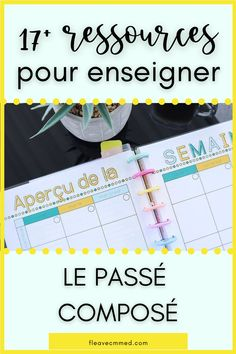 Teaching verbs in French. How tired are you of finding websites on how to teach passé composé and then being UTTERLY disappointed? I used to spend FOREVER trying to find resources on Google. I would often find blogs of boring worksheets. However, they would neglect to share links or examples of videos, music or photos. In this blog post, I share activities, videos, songs, games and so much more! #frenchgrammar #frenchresources #passecompose French Verbs, French Grammar, French Teacher, Teaching French, Teaching Verbs, Verb Worksheets, Free In French, Perfect Gif, French Resources