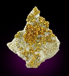 Chalcopyrite with Dolomite and Calcite from Missouri