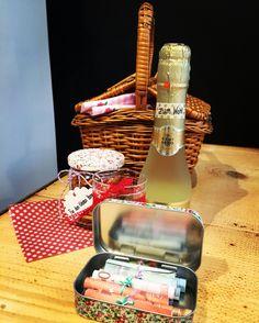 Geldgeschenk Picnic, Basket, Atelier, Cash Gifts, Nice Asses, Picnics, Picnic Foods, Hamper