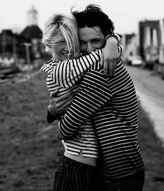 #Couple #Stripes