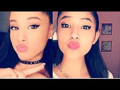|Ariana grande| Natural makeup tutorial - YouTube