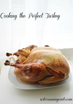 How to cook a perfectly stunning turkey