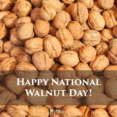 Happy #NationalWalnutDay on May 17, 2016!