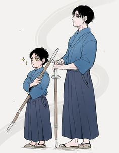 OMG they are practicing KENDO!!!  I'm gonna DIIIIE in my corner!