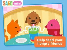 Sago Mini Pet Cafe | Cute Playful App For Toddlers and Preschoolers