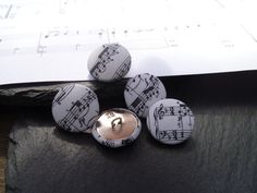 Boutons en tissu lot de 5 boutons par happyhookstore sur Etsy