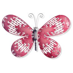 18 Pink Butterfly Wall Decor- National Tree Company