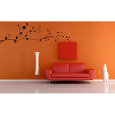 Samolepka na zeď- Floral ornament 2