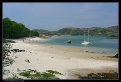 white sands at morar scotland