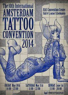 Tattoo & Ink: Amsterdam Tattoo Convention 2014