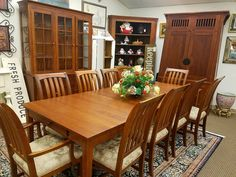 This Ethan Allen American Impressions collection made of solid cherry wood has just arrived at our store! #designerfurniture