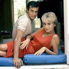 Tony Curtis and Janet Leigh, 1961