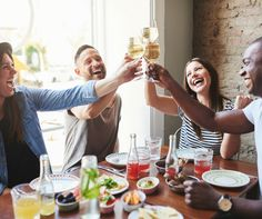 TIP: Rather than going out to eat, channel your inner master chef and prepare something mouthwatering, and then invite your friends to bring a plate to share. All the fun, a fraction of the cost! #thriftythought