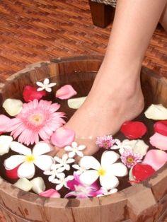 Os benefícios do escalda-pés                                                                                                                                                                                 Mais