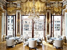 Aman Canal Grande hotel, Venice. 4 Must-Visit Hotels in Venice, Italy via @MyDomaine
