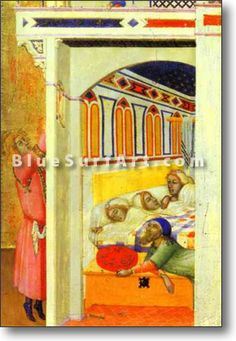 The Charity of St. Nicholas of Bari - £124.99 : Canvas Art, Oil Painting Reproduction, Art Commission, Pop Art, Canvas Painting