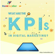 Abbreviated for key performance indicators, they are quantifiable goals that help you analyze and measure the success of your digital marketing campaign. KPIs play an important role in meeting your business objectives and ensure better decision making. Digital Marketing Services, Seo Services, Content Marketing, Social Media Marketing, Search Optimization, Custom Website Design, Media Campaign, Marketing Techniques, Decision Making