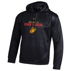 UNDER ARMOUR MARINES FLEECE 2.0 HOODIE   Marine Corps Direct   Quality USMC gear and clothes   marinecorpsdirect.org   USA