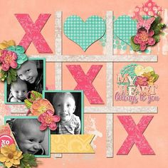 Simple Scrapbook Layouts - CLICK THE PIC for Various Scrapbooking Ideas. #scrapbook #craftideas